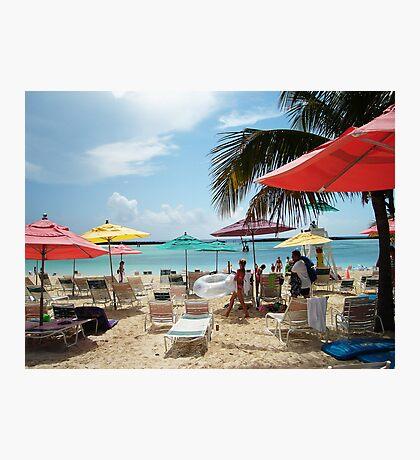 DISNEY BEACH Photographic Print