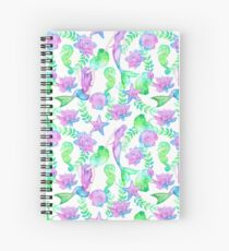 Mermaids Spiral Notebook
