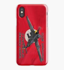 Famous Fighters - Me109 iPhone Case/Skin