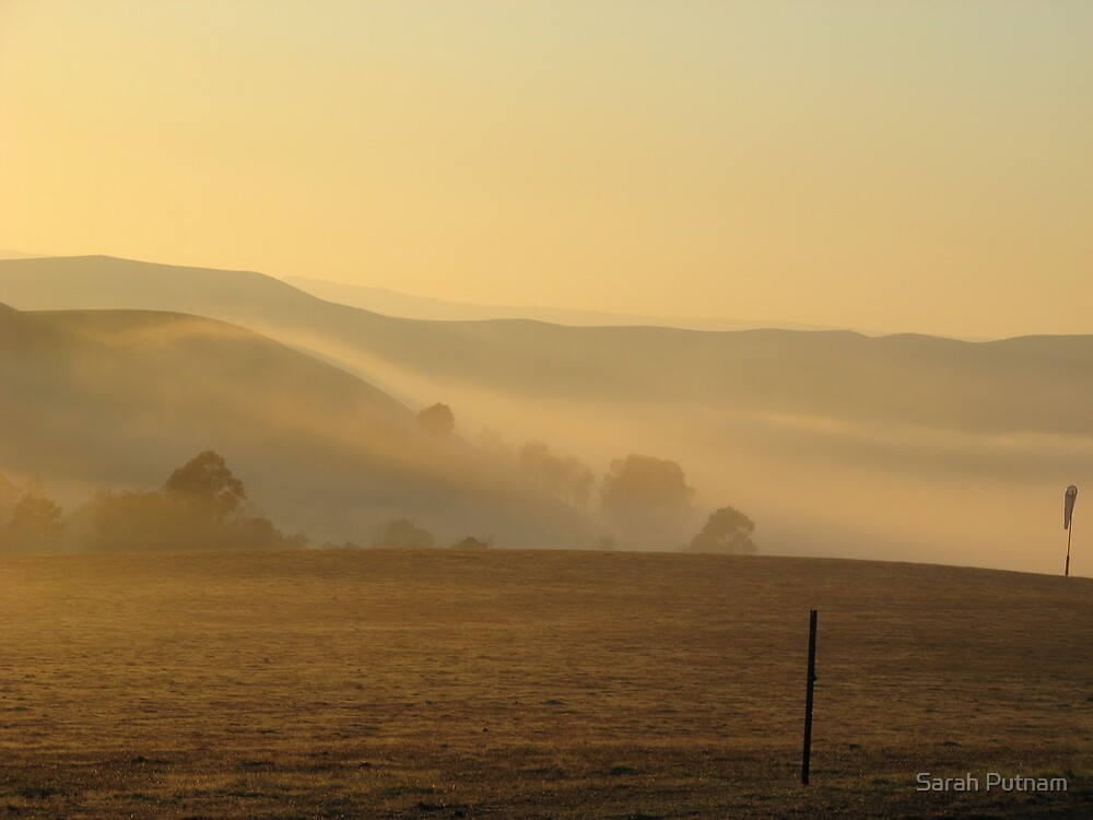 A Country Morning by Sarah Putnam