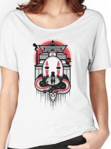 Spirited Haku and Chihiro Women's Relaxed Fit T-Shirt