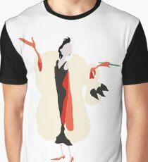 Minimalistic Cruella Deville Graphic T-Shirt