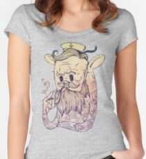 Hello Sailor!! Women's Fitted Scoop T-Shirt