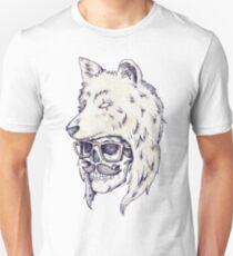 Wolf Hat Unisex T-Shirt