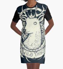 Wild Thing Graphic T-Shirt Dress