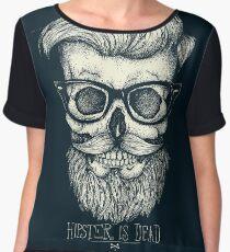 Hipster is Dead II Chiffon Top