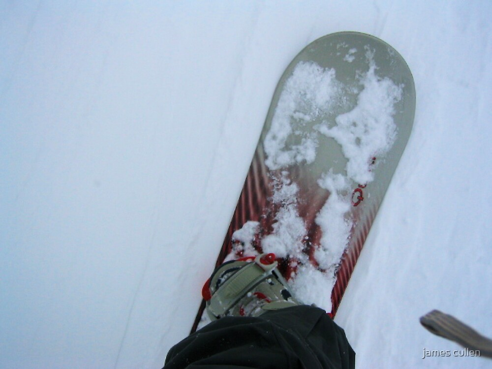 SNOWBOARDING by james cullen