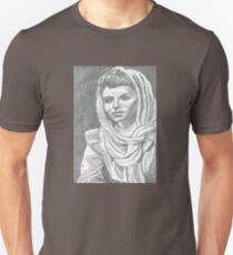 Women in Headscarf- Monochrome Unisex T-Shirt