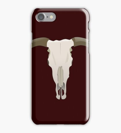 longhorn iPhone Case/Skin
