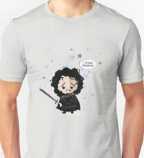 Jon in the Snow Unisex T-Shirt