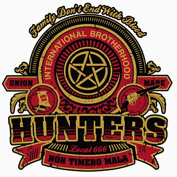 Hunter's Union - Back Print by frauholle