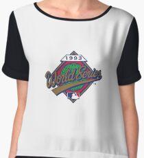 1993 World Series Chiffon Top
