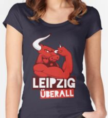LEIPZIG ÜBERALL Women's Fitted Scoop T-Shirt