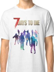 7 Days to Die - Galaxy Classic T-Shirt