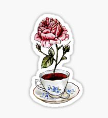 Rose Tea Sticker