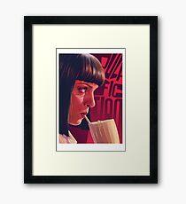 Mia Wallace Milkshake Framed Print