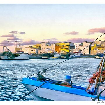 fishing port by FrinK