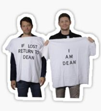 If Lost Return to Dean  Sticker