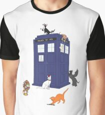 Doctor Who: Cats Graphic T-Shirt