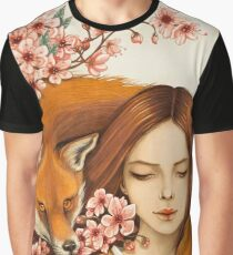 Red Fox Totem. Graphic T-Shirt