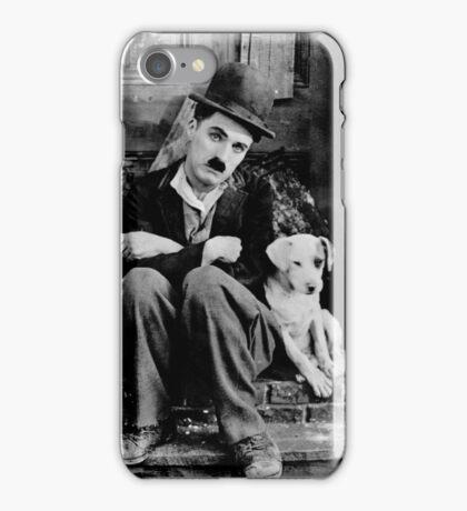 Chaplin and Dog iPhone Case/Skin