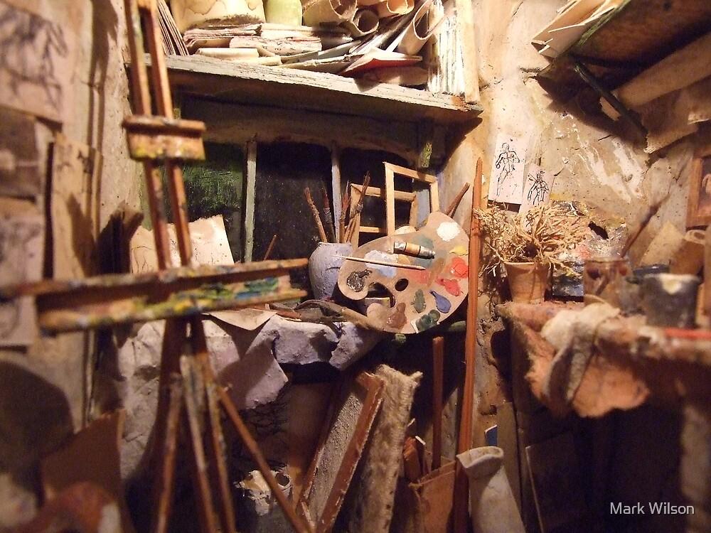 Artists Studio by Mark Wilson