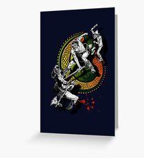 Ukko & the Slayer Greeting Card