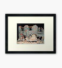 World War II Destruction Framed Print