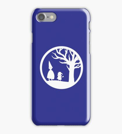 Wirt and Greg (White Ink) iPhone Case/Skin