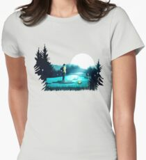 Lost in the Moment Womens Fitted T-Shirt