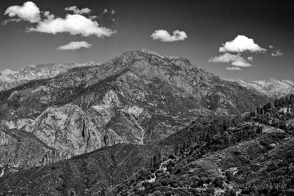 Mountain Clouds by Michael D'Andrea Diaz