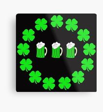 3 Beercenter St Paddy's Day Metal Print