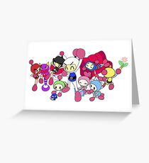 Super Bomberman R - Bomberman and Friend!  Greeting Card