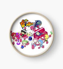 Super Bomberman R - Bomberman and Friend!  (Logo) Clock