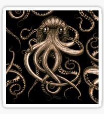 Bronze Kraken Sticker