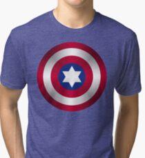 Truth & Justice (Jewish Cap Shield for DB) Tri-blend T-Shirt