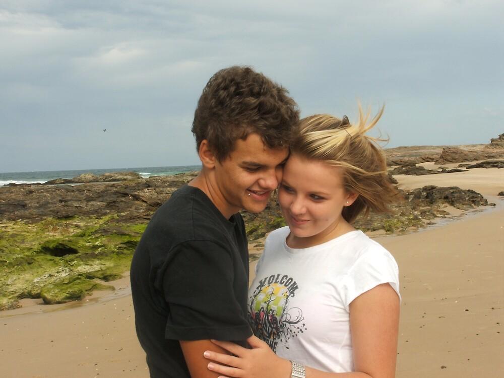 Love On The Beach by bobbijo07