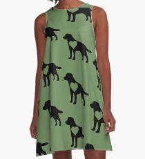 Labrador Love A-Line Dress