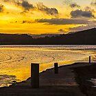 Urr Estuary Sunset by David Lewins
