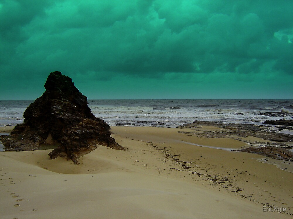 STORMY WEATHER AT VALLA BEACH by EricKyle