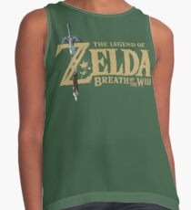 ZELDA - BREATH OF THE WILD LOGO TEE / MUG / BAG Contrast Tank