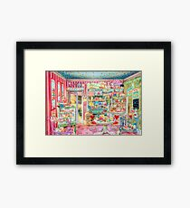 The Little Cake Shop Framed Print