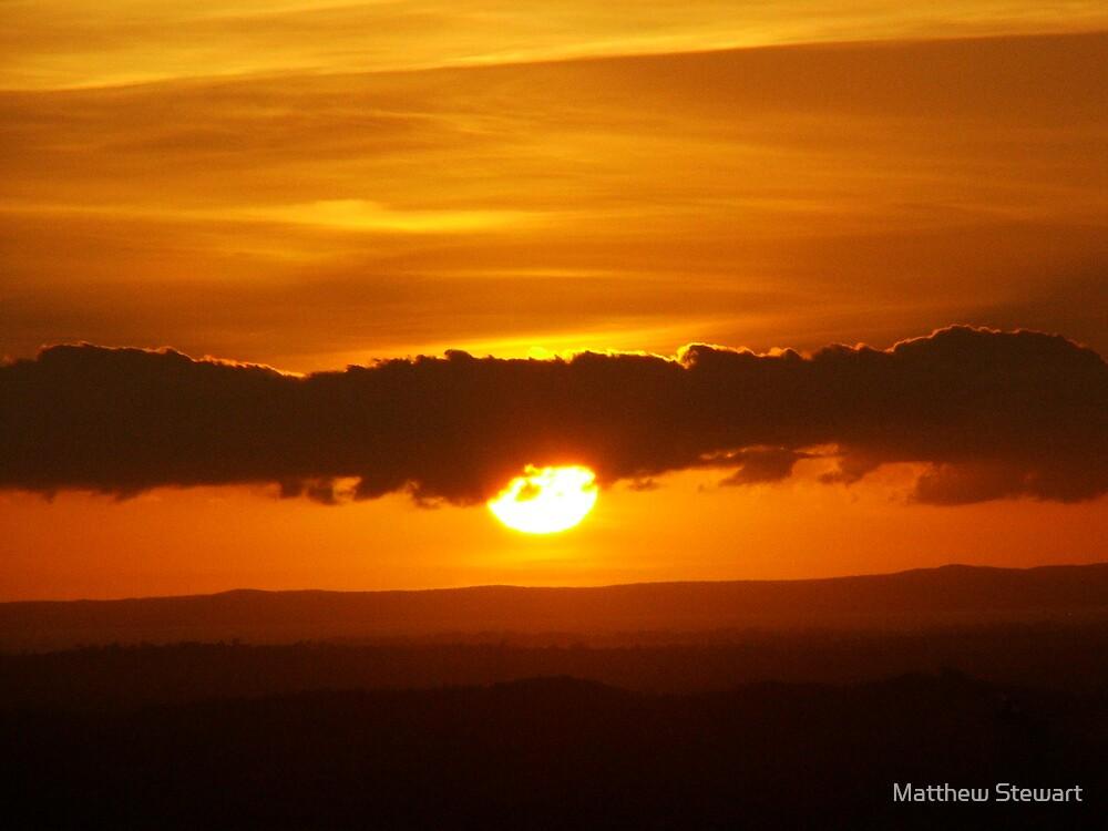 Orange Mountains by Matthew Stewart