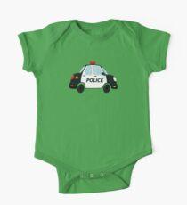 Cute Police Car Kids Clothes