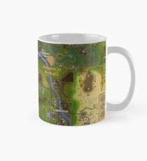 Where you grew up - RuneScape Map Mug