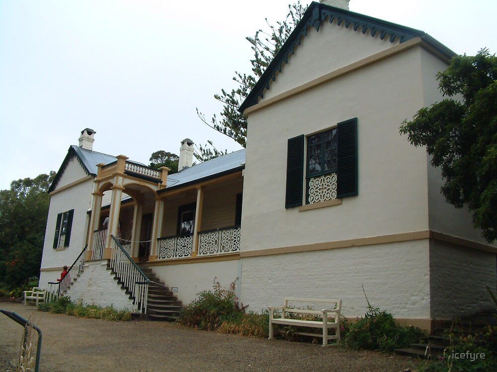 Port Arthur mansion by icefyre