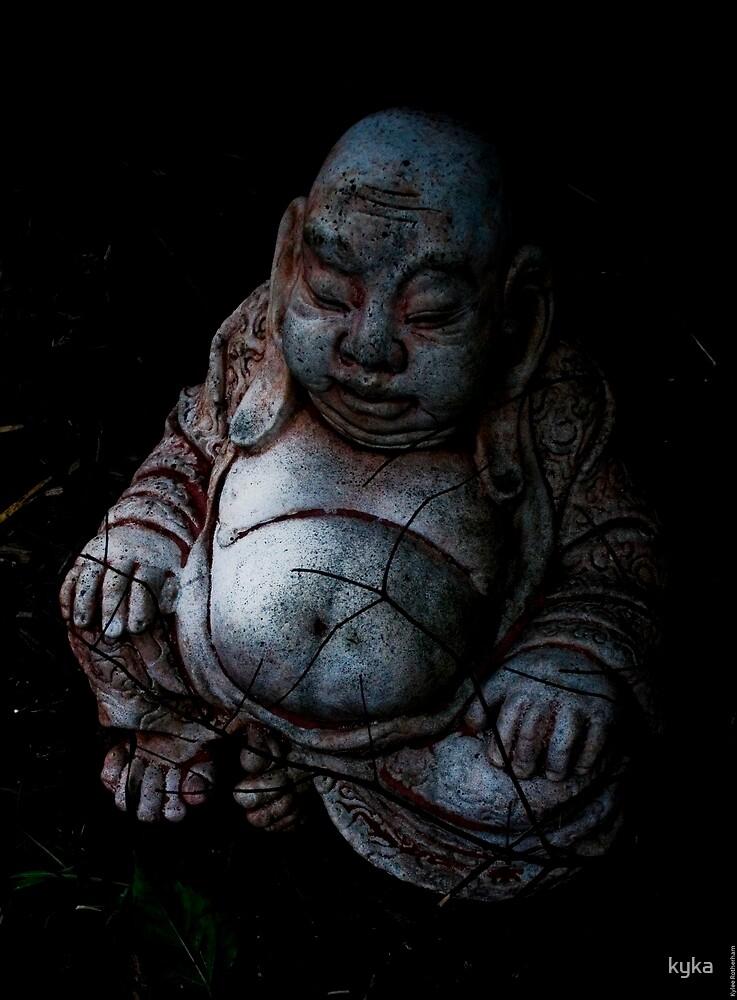 Garden Buddha by kyka