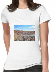 Whitby Harbour Womens Fitted T-Shirt