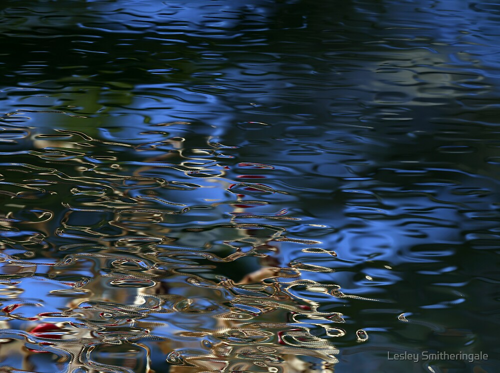 Ripples at Dusk by Lesley Smitheringale