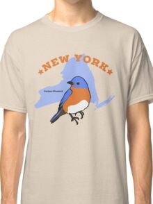 New York Eastern Bluebird - 50 State Birds Classic T-Shirt